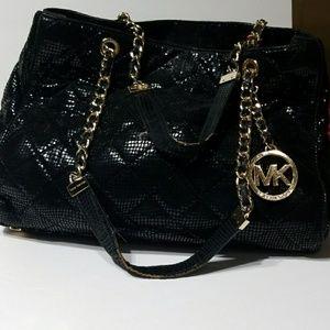 Michael Kors black handbag